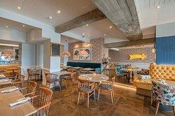 Inside the Brighton Harbour Kitchen & Bar