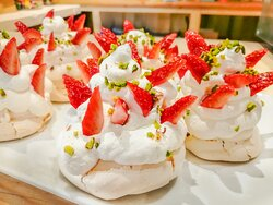 Pavlova fraise