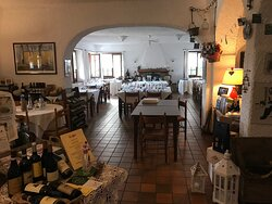 il ristorante (interni)