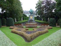 Brussels, Petit Sablon Garden