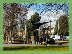 playground off limits during lockdown