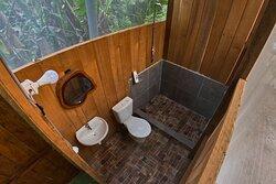 baño del segundo piso