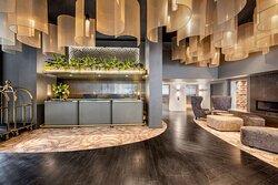vibe hotel hobart lobby reception