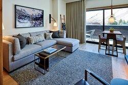The Cloudveil Suite - Living Room