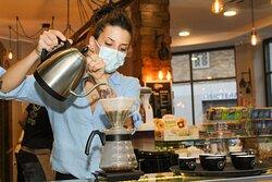 esperienza e passione per il caffè