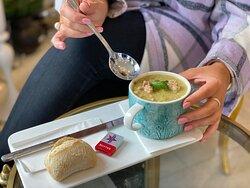 We have a soup menu too