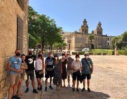 Visitas guiadas diarias en Úbeda y Baeza. Una mañana de verano en Úbeda con un grupo excelente.