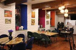 Frida restaurant interior.