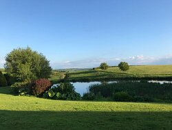 Wonderful view from our cottage