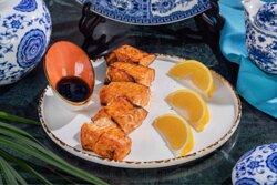 Salmon Barbeque.