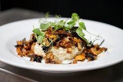 RISOTTO CHAMPIGNONS  Wood mushrooms & ceps risotto