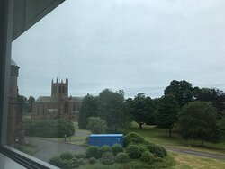 View from the room - Church nearby