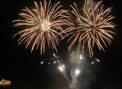 毎晩上がる花火は部屋から見える(5から10月)