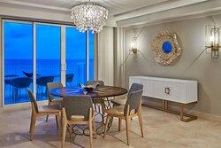 JJ Astor Suite Dining Room