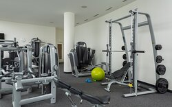Spacious and well-equipped gym available 24/7