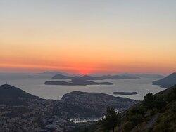 Stunning views over Dubrovnik