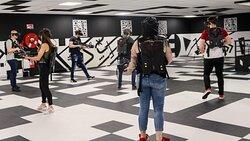 EVA After H une expérience unique en réalité virtuelle, vous vous déplacez librement su plus de 250 M2. Intense et bluffant...