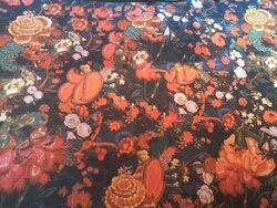 Bonita alfombra.