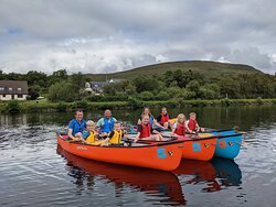 Our canoeing group.