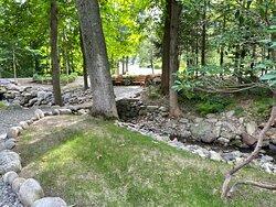 Garden area around the Inn.
