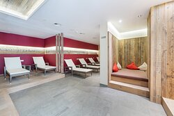 Ruheraum im Wellnessbereich Hotel AlpenSchlössl in der Berg und SkiWelt Wilder Kaiser Brixental.