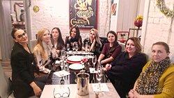 Индивидуальный мастер-класс сомелье для компании по игристым винам Wine Project