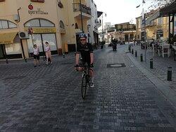 Great Gathering at Ramo Pro Cycling Cyprus with Ramo Coach ... Historical Tour / Giro de Cafe
