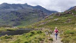 View at Loch Coruisk