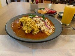 Breakfast in Oaxaca Real