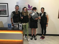 Our family of 4 were able to complete the mission without getting too many clues for help. Sometimes the teenagers are smarter than the parents.