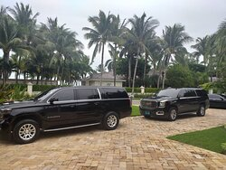 The Team In Front of Your Luxury Vacation Home waiting on you....  For Transportation or Vacation Home Rentals: suv.transports@gmail.com