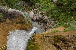Globoški potok canyon