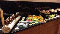 Area welness e gala di dolci a cena