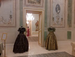 ingresso del piano nobiliare del palazzo Borgia