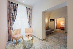 Premium one-bedroom suite