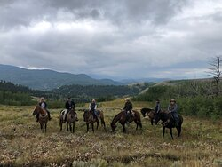 Gourmet food, riding, fly fishing