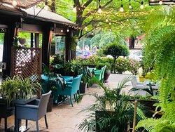 Las Ramblas garden.