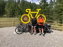 Great trail. We started in Fairmount which was easier beginning. The Invermere side is rated more difficult.  Doesn't much matter if you are doing the complete trail.  Highly recommend this trail.