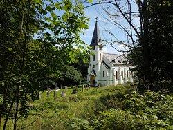 Kostel sv. Jana Nepomuckého (po opravě) - Zadní Zvonková