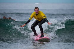 Pictures of K16's surf lessons. Summer 2021.