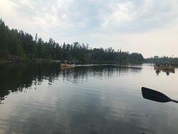 Peaceful paddling