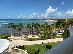 View from lobby balcony
