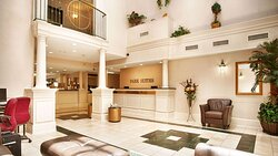 MH ParkSuites EastPlano TX Property Lobby