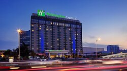 Hotel Exterior Feature-Night