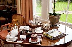 Summer Lodge Master Suite detail