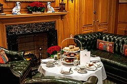 Chesterfield Palm Beach Afternoon Tea In The Library