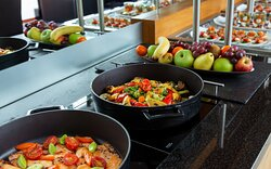 Enjoy light lunch and dinner at Club Lounge Floor