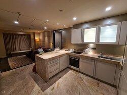 Kitchenette of 2bhk apartment