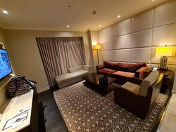 living room of 2bhk apartment
