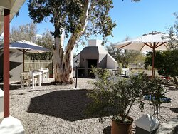 Braai Area at Lodge